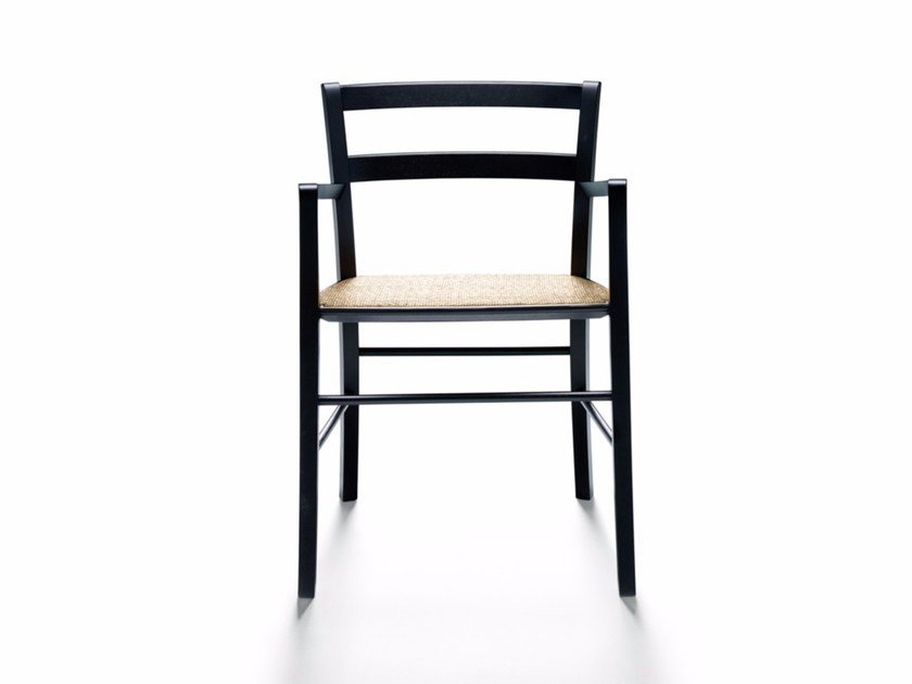 Chair with armrests M16 by DE PADOVA