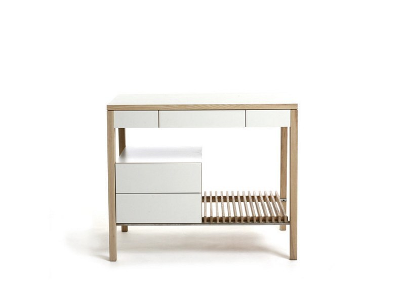 Lacquered wooden with drawers M2004 by MINT FACTORY