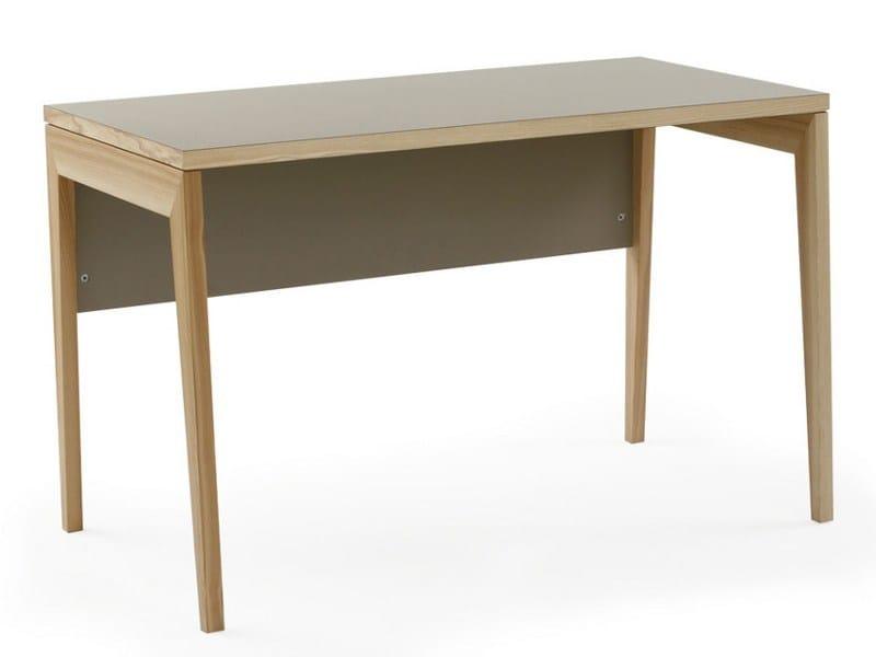 Rectangular wooden writing desk M2300 | Writing desk by MINT FACTORY
