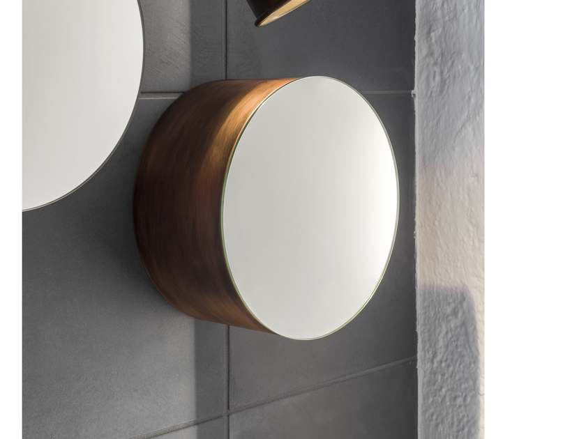 Round wall-mounted mirror M3 | Wall-mounted mirror by Moab80