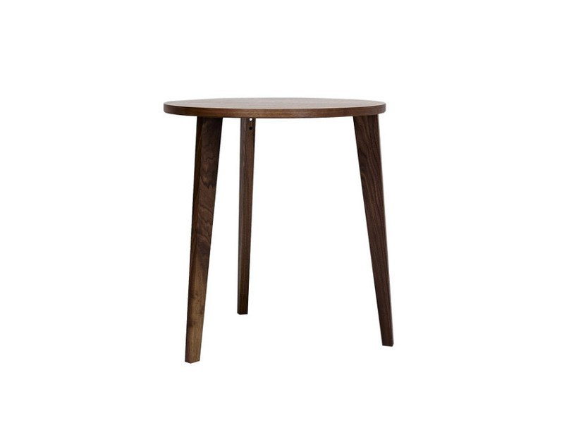 Round wooden dining table M8001 by MINT FACTORY