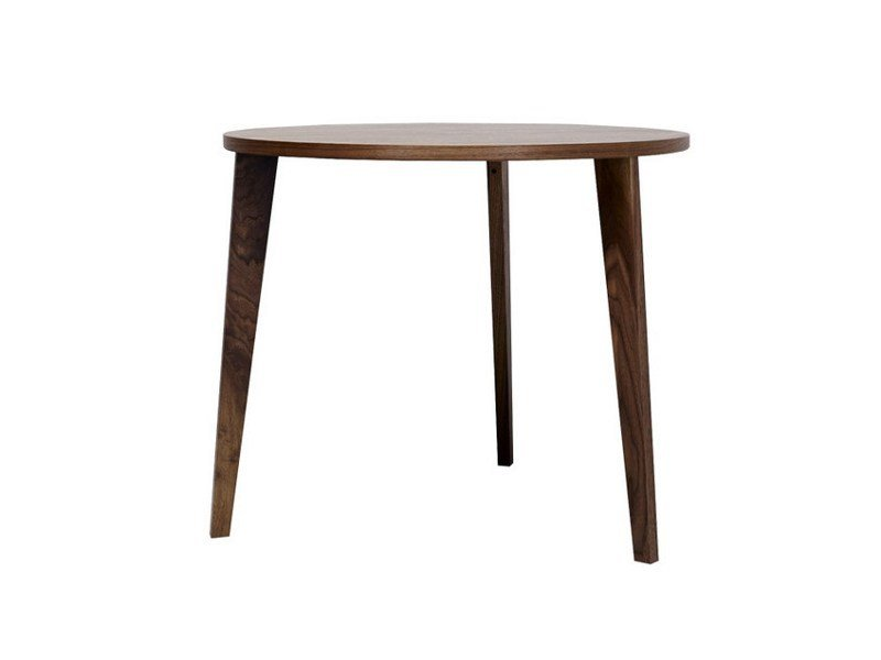 Round wooden dining table M8002 by MINT FACTORY
