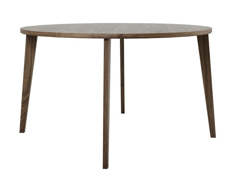 Round wooden dining table M8003 by MINT FACTORY