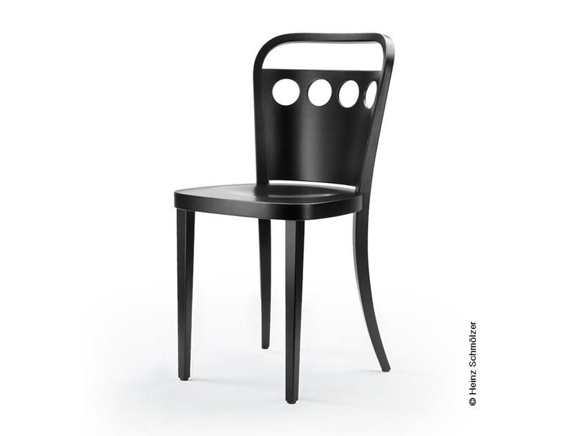 Lacquered wooden chair M99 | Lacquered chair by rosconi