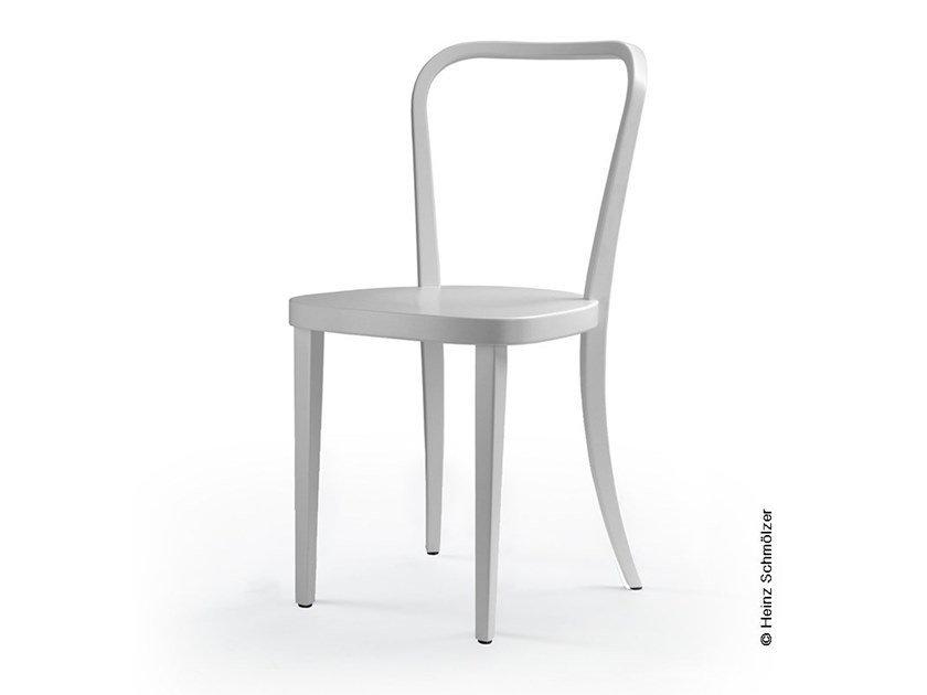 Lacquered open back wooden chair M99 | Open back chair by rosconi