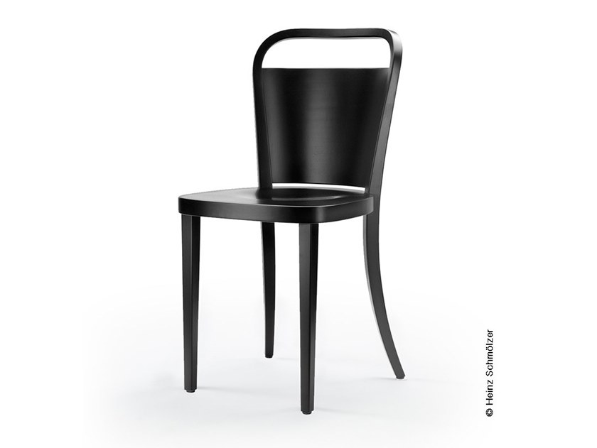 Lacquered wooden chair M99   Wooden chair by rosconi