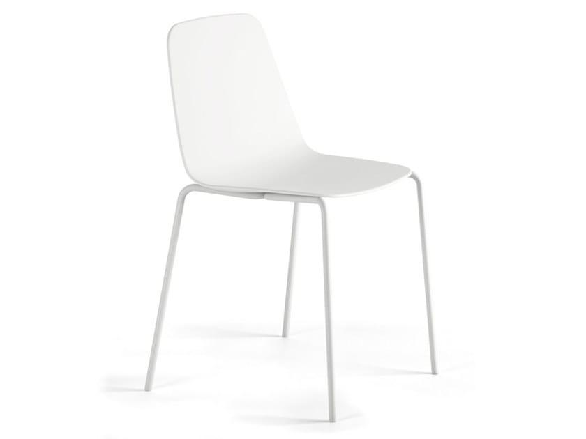 MAARTEN PLASTIC | Sedia in polipropilene