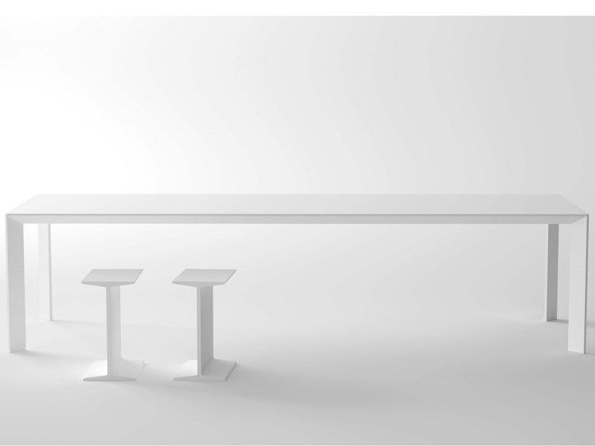 Rectangular laminate table MAC   Rectangular table by Desalto
