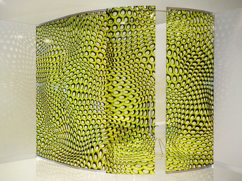 Crystal movable wall MAC STRUCTURE by Casali
