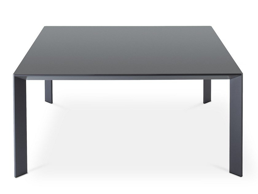 Square laminate table MAC | Square table by Desalto
