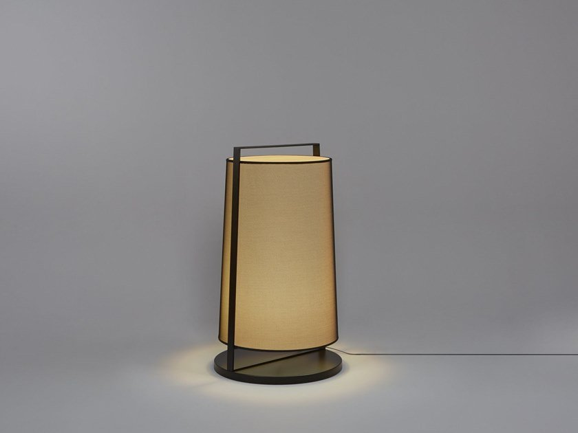 Direct light fabric floor lamp MACAO | Fabric floor lamp by Tooy