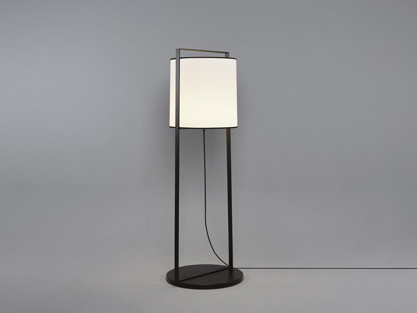 Direct light fabric floor lamp MACAO | Floor lamp by Tooy