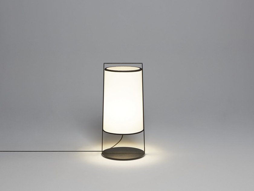 Direct light fabric table lamp MACAO | Table lamp by Tooy