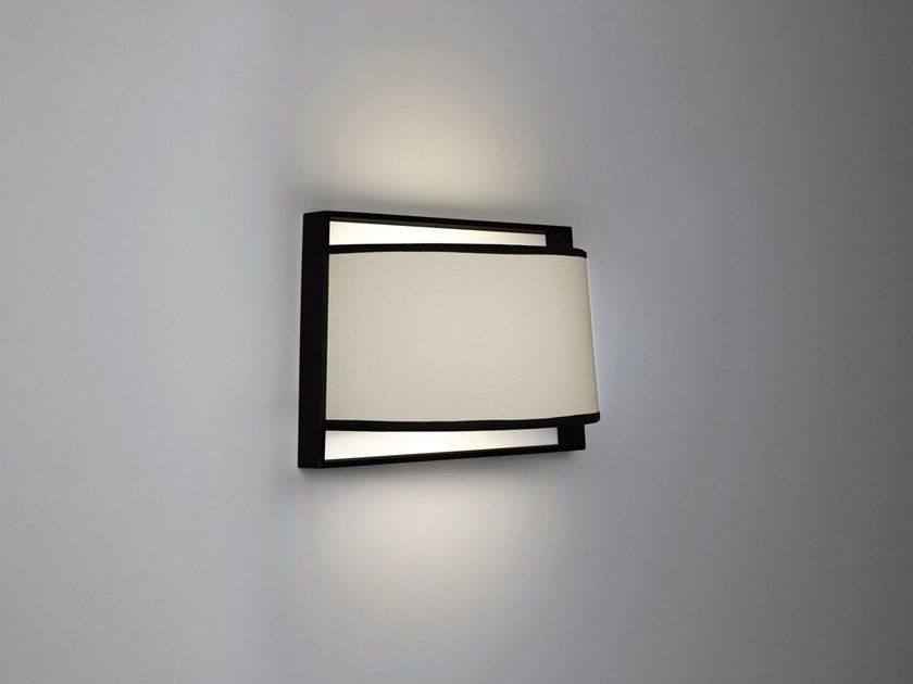 Direct light fabric wall light MACAO | Wall light by Tooy