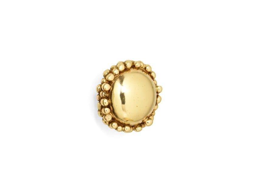 Brass Furniture knob MACARON CM3005 by PullCast
