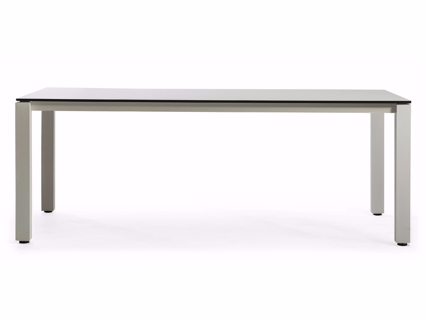Rectangular HPL garden table MACHAR | Dining table by OASIQ