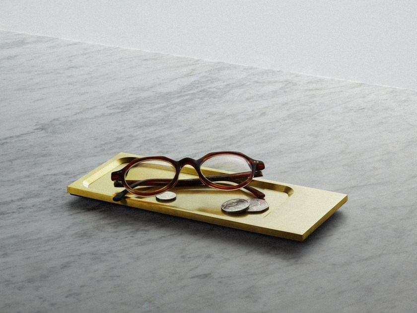 Pin tray Tray - Brass by Buster + Punch