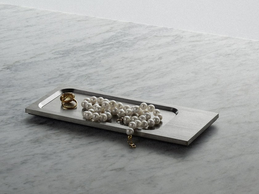 Svuotatasche Tray - Steel by Buster + Punch
