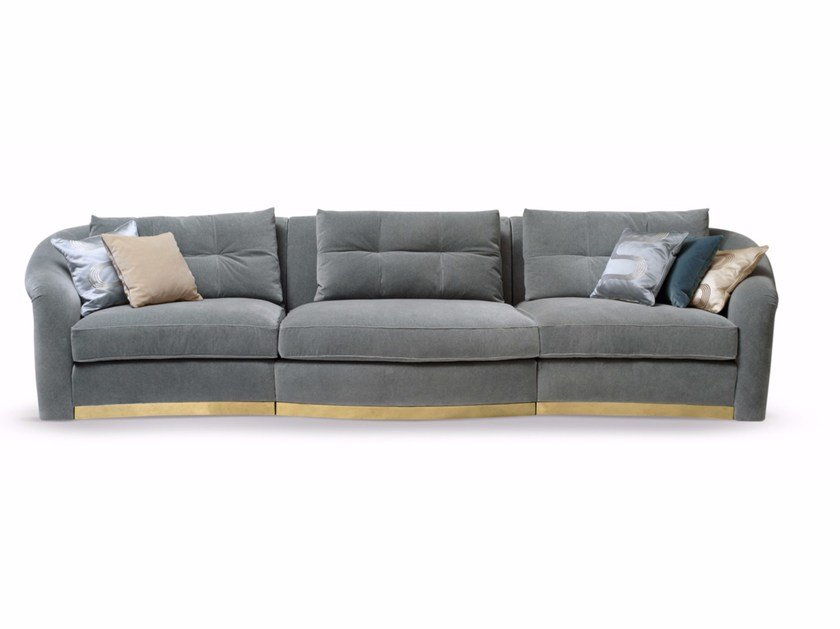 Sectional fabric sofa MADAME | Sectional sofa by SOFTHOUSE