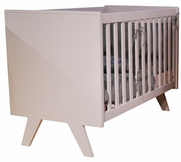 Lacquered cot MADAVIN | Cot by Mathy by Bols