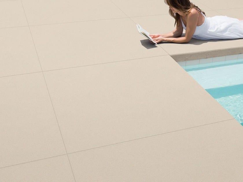 Pavimento/rivestimento in gres porcellanato effetto cemento MADE 2.0 by Gigacer