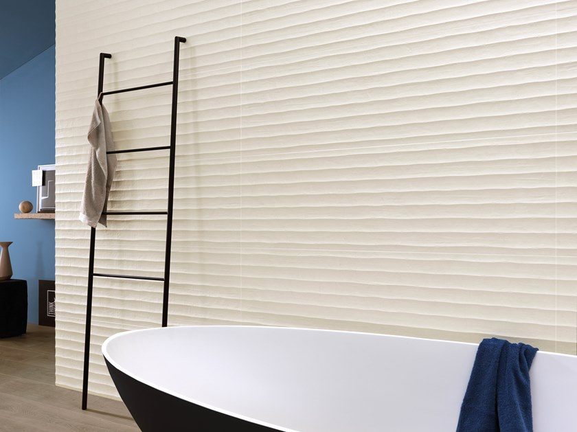 White-paste wall tiles MADE RICE by Impronta Ceramiche