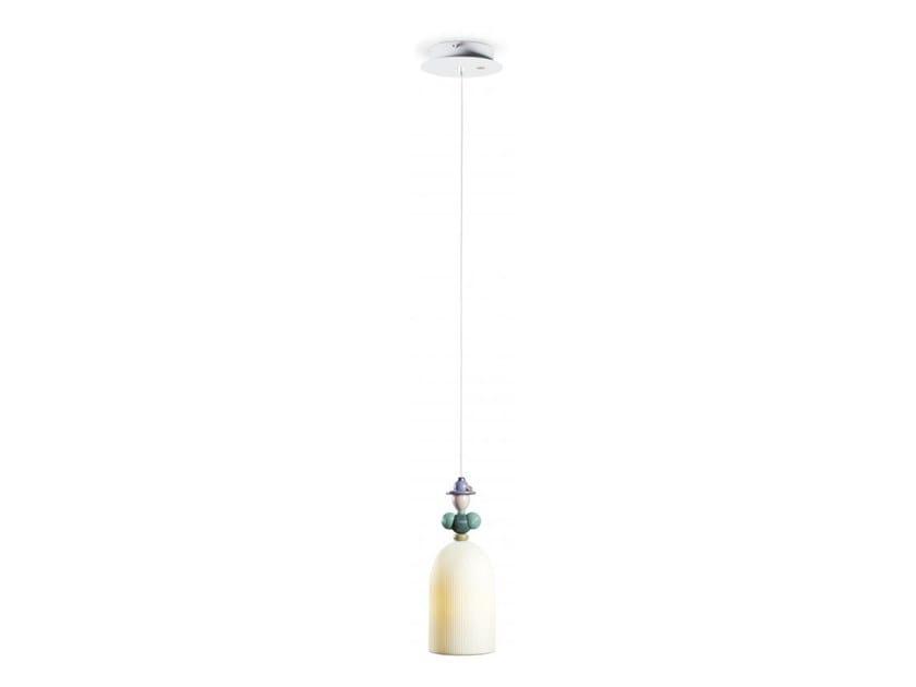 Lampada a sospensione a LED in porcellana MADEMOISELLE BÉATRICE | Lampada a sospensione by Lladró