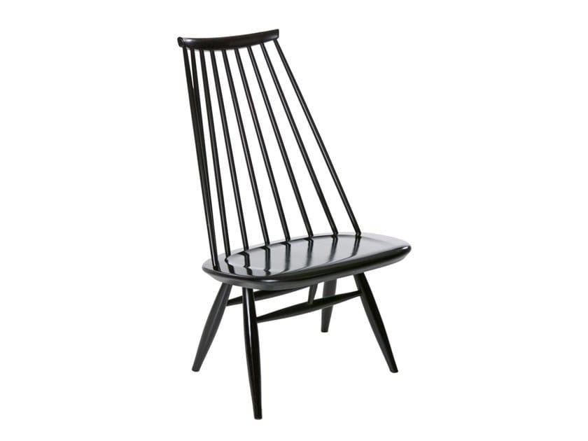 Birch easy chair high-back MADEMOISELLE | Easy chair by Artek