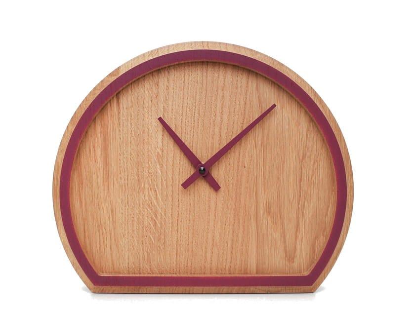 Table-top oak clock MADERA | Table-top clock by Otono Design