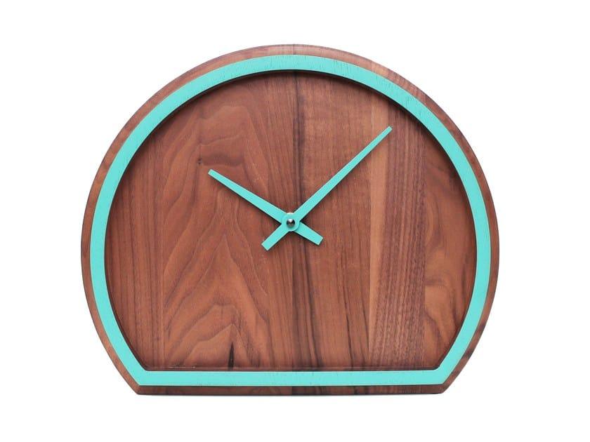 Orologio da tavolo in noce MADERA | Orologio in noce by Otono Design