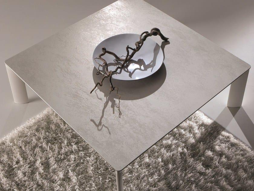 Aluminium coffee table MADISON by IDEAS Group