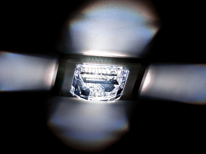 Recessed spotlight with Swarovski crystals MADISON | Spotlight by Swarovski