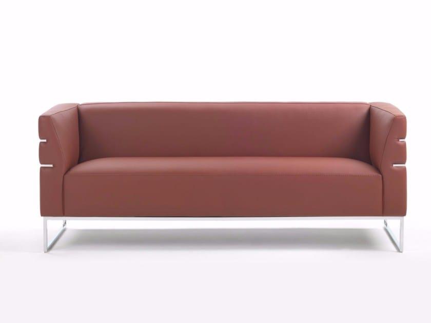 Sled base sofa MADISON | Sofa by Marelli