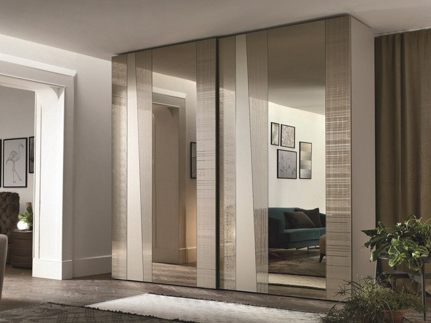 Wardrobe with sliding doors MADRAS by Gruppo Tomasella