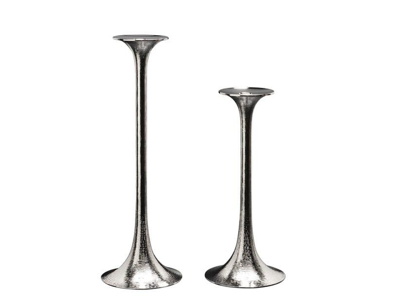 Silver vase / candle holder MADURAI by ZANETTO