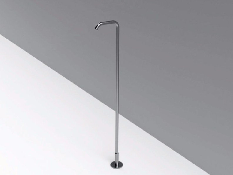 Floor standing stainless steel sink spout MAE | Floor standing spout by Rexa Design