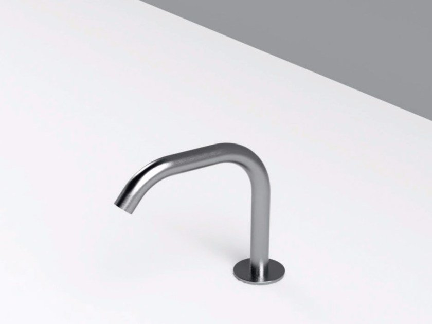 Deck-mounted stainless steel sink spout MAE   Sink spout by Rexa Design