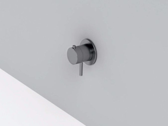 Single handle stainless steel thermostatic shower mixer MAE | Thermostatic shower mixer by Rexa Design