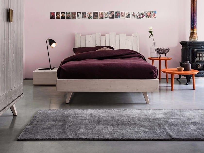 Solid wood bedroom set MAESTRALE M05 by Scandola Mobili