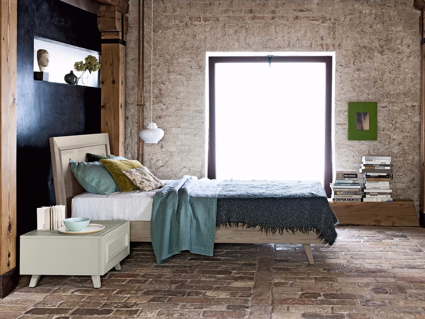 Spruce teenage bedroom MAESTRALE M10 by Scandola Mobili