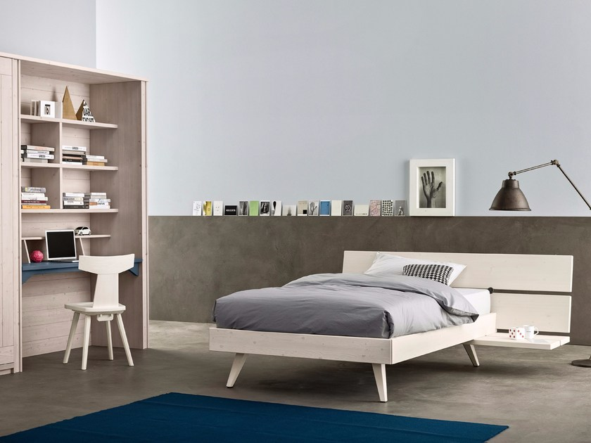 Solid wood bedroom set MAESTRALE M12 by Scandola Mobili