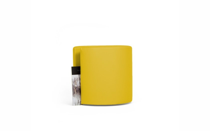 Fabric pouf MAGAZINE by Arketicom Design
