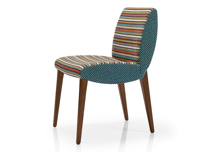 Upholstered fabric chair MAGEE | Fabric chair by JMS