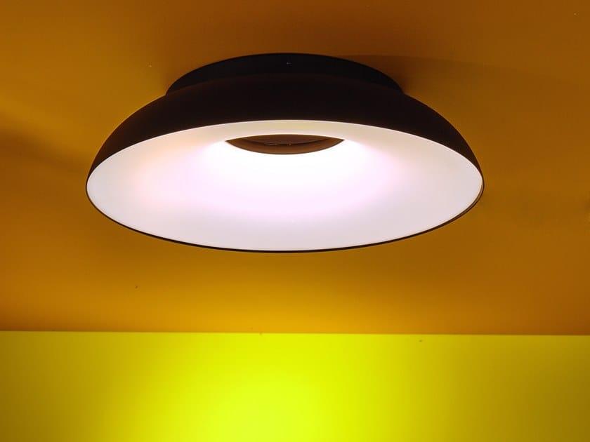 Lampada a soffitto in alluminio e metacrilato con dimmer MAGGIOLONE | Lampada da soffitto by Martinelli Luce