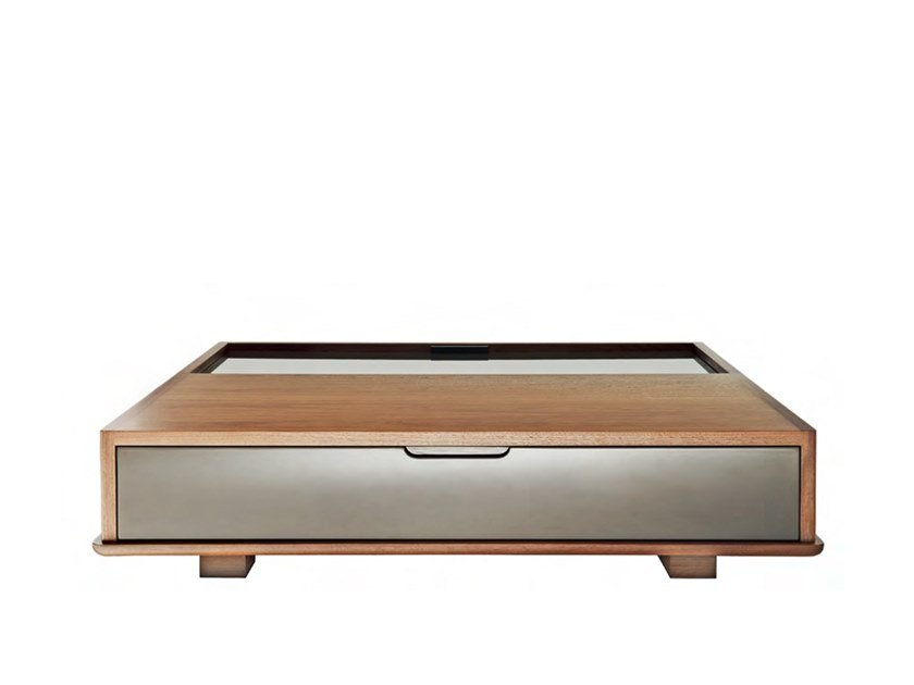 Coffee table with storage space MAGIC by HC28