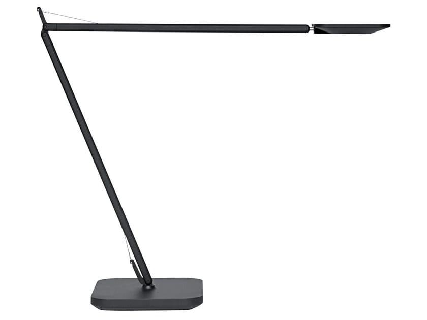 Lampada da scrivania in alluminio con dimmer MAGIC by Unilux