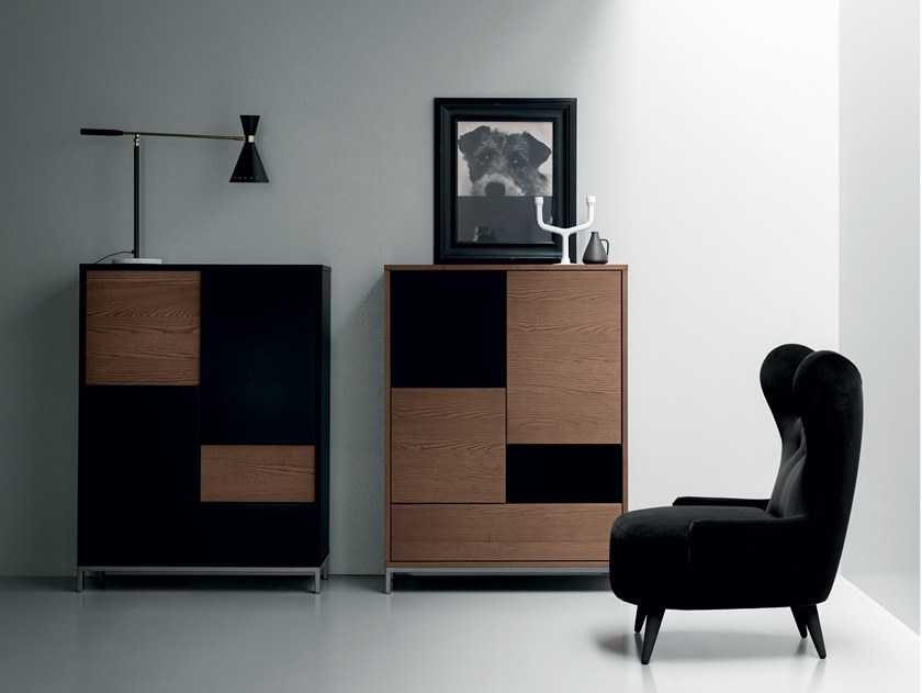 Lacquered highboard MAGIDA | Highboard by Md House