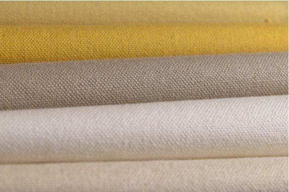 Solid-color washable cotton fabric MAGIE by FRIGERIO