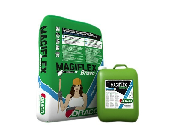 Cement-based waterproofing product MAGIFLEX BRAVO by DRACO ITALIANA
