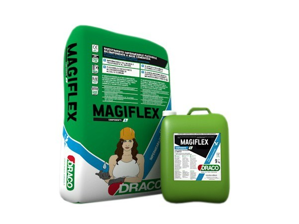 Cement-based waterproofing product MAGIFLEX by DRACO ITALIANA